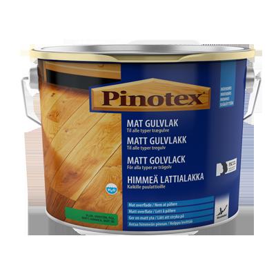 Mat gulvlak - hurtigtørrende lak til dit trægulv | Pinotex